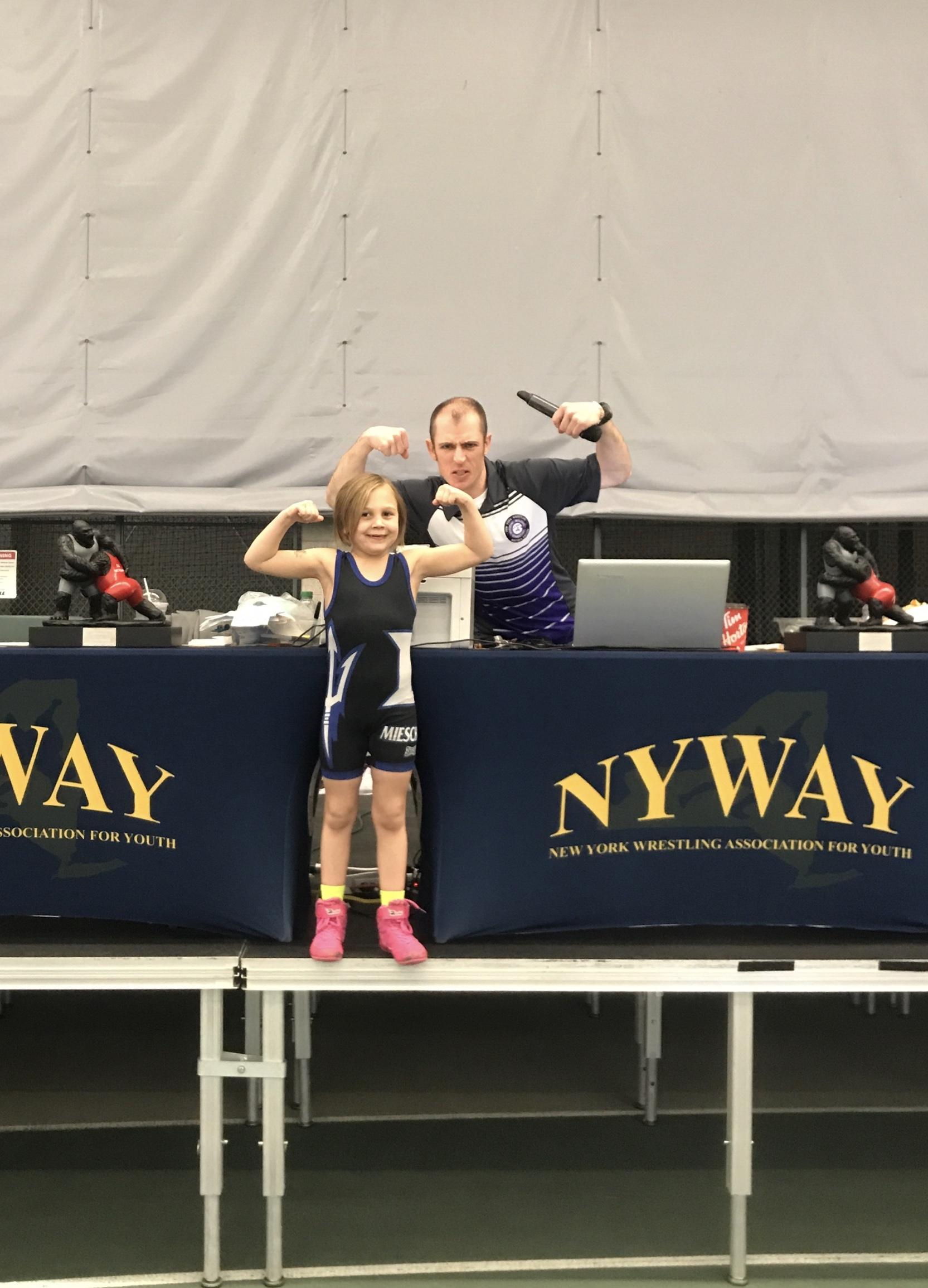 Ogdensburg pee wee wrestling tournament